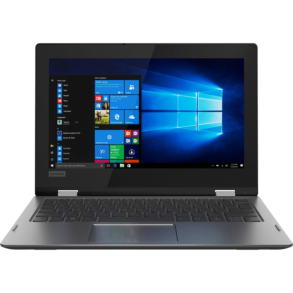"""Lenovo 11.6"""" 2 in 1 Multitouch Laptop Computer - 81A7000AUS"""