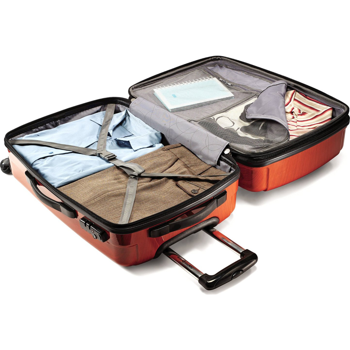 Samsonite-Winfield-2-Fashion-24-Inch-Hardside-Spinner-Luggage-Suitcase-4-Colors thumbnail 10