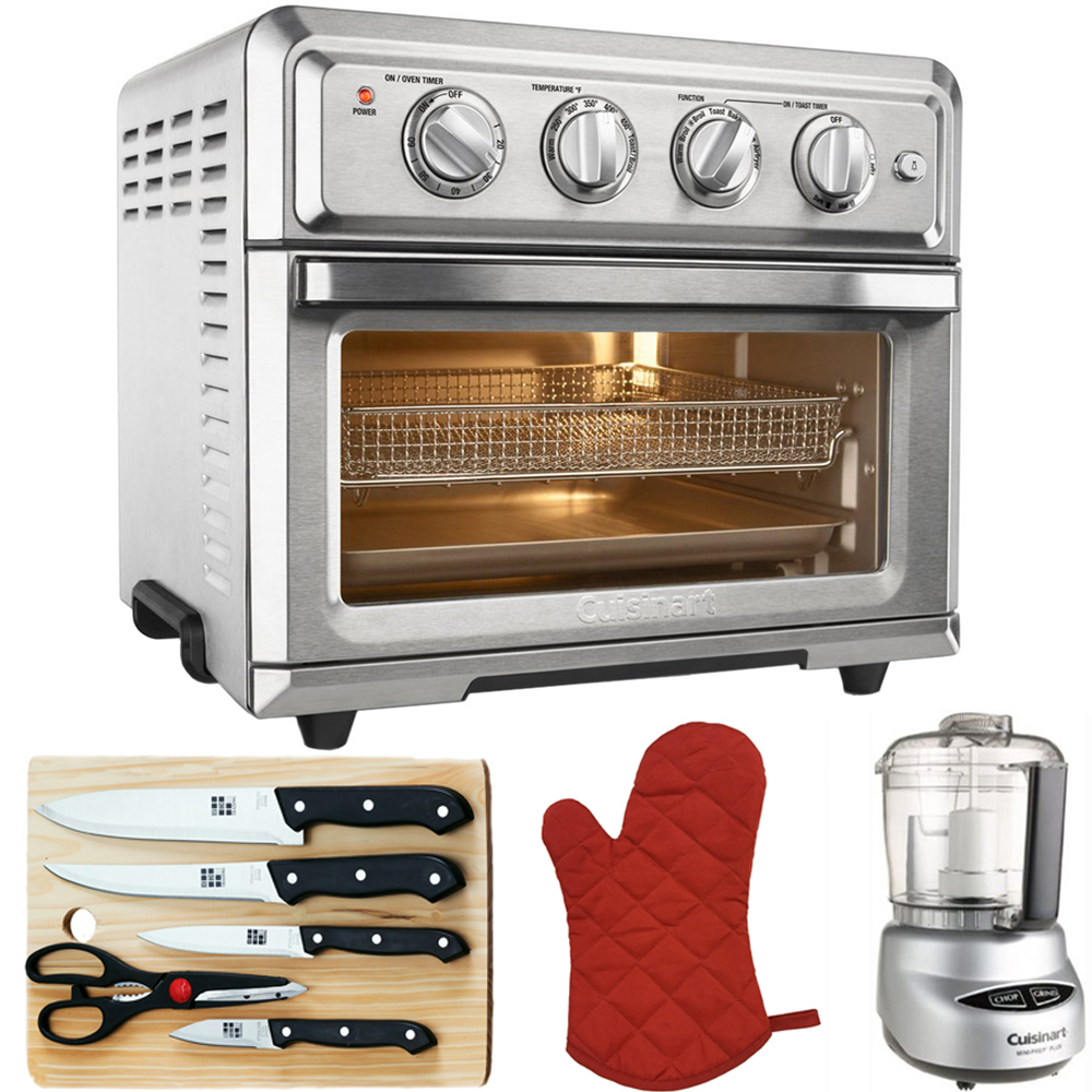 Cuisinart Convection Toaster Oven Air Fryer Silver