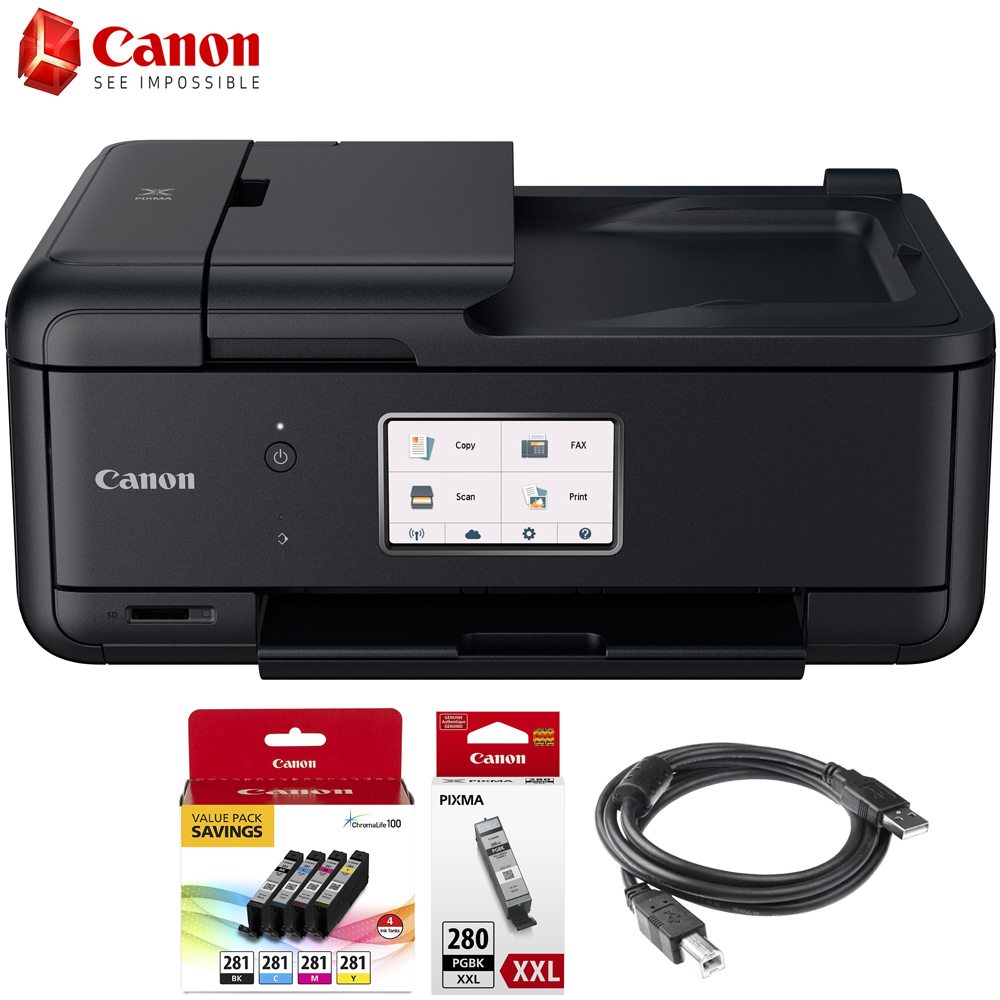 Canon Pixma Tr8520 Wireless Home Office All In One Printer