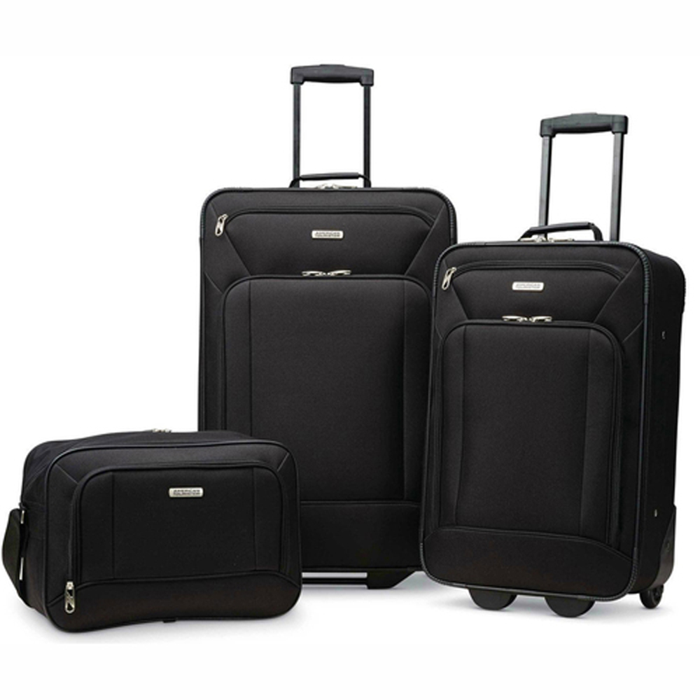 American-Tourister-Fieldbrook-XLT-3-Piece-Luggage-Set-21-034-amp-25-034-Choose-Color thumbnail 2
