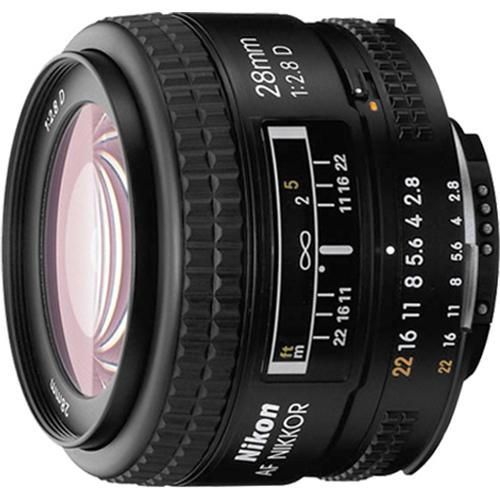 Nikon-28mm-f-2-8D-AF-Nikkor-Wide-Angle-Prime-Lens