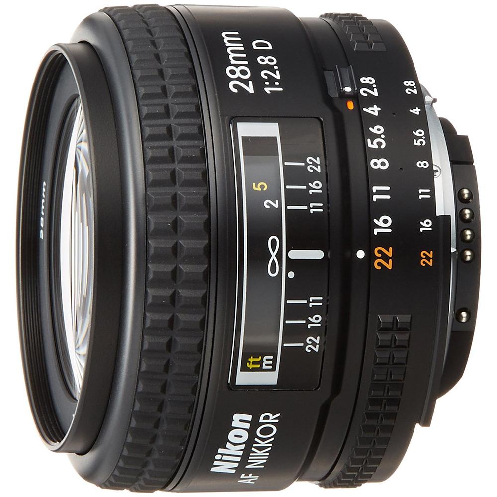 Nikon-28mm-f-2-8D-AF-Nikkor-Wide-Angle-Prime-Lens thumbnail 2