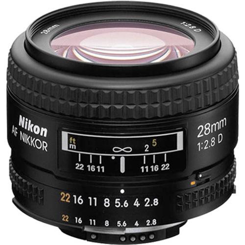 Nikon-28mm-f-2-8D-AF-Nikkor-Wide-Angle-Prime-Lens thumbnail 3