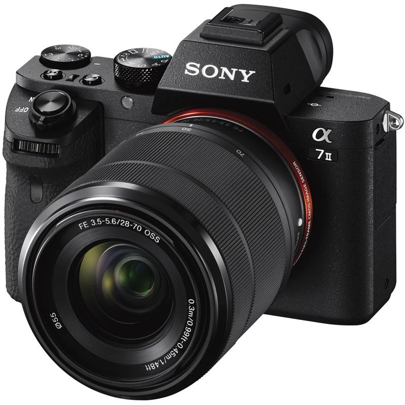 Sony-Alpha-a7-II-Mirrorless-Camera-28-70mm-Lens-Deco-Gear-Case-3x-Battery-Kit miniatura 3
