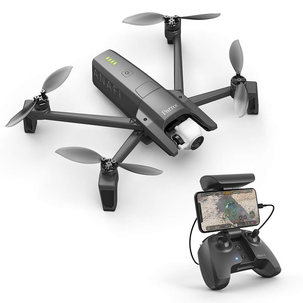 Parrot PF728000 ANAFI Foldable Quadcopter Drone with 4K HDR