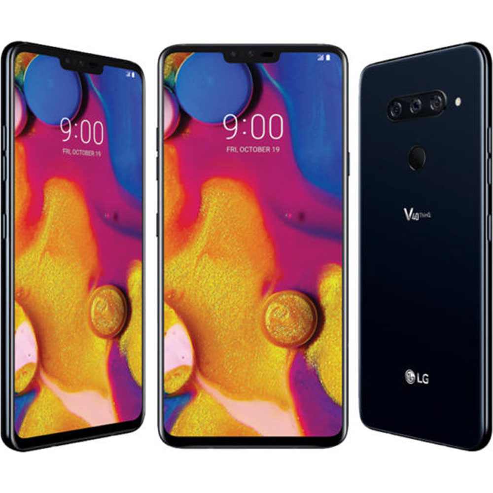 Details about LG V40 ThinQ Smartphone - Black - (LGV40)