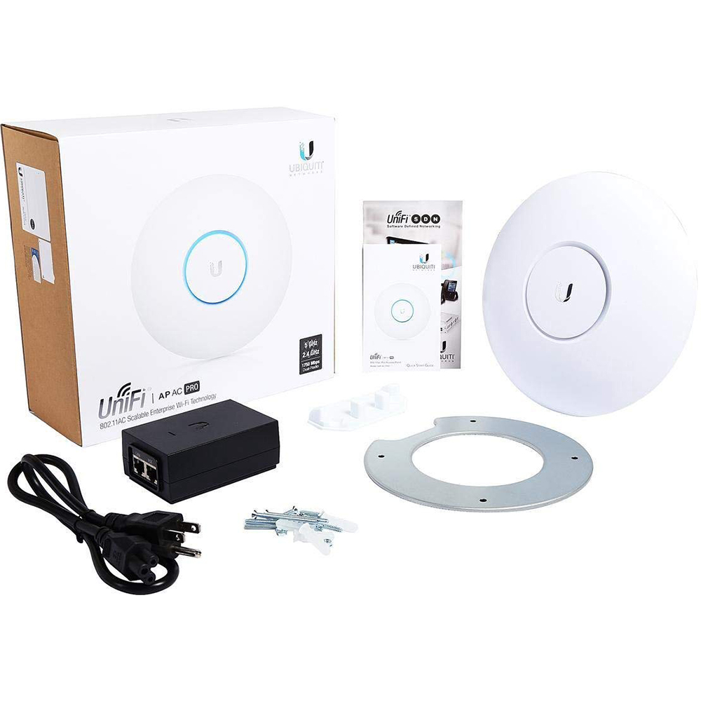 Details about Ubiquiti Unifi 802 11ac Dual-Radio PRO Access Point  (UAP-AC-PRO-US)
