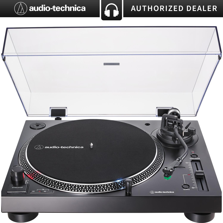 Audio Technica At-Lp60Bk-Usb Usb Turntable W//Recording Software Black