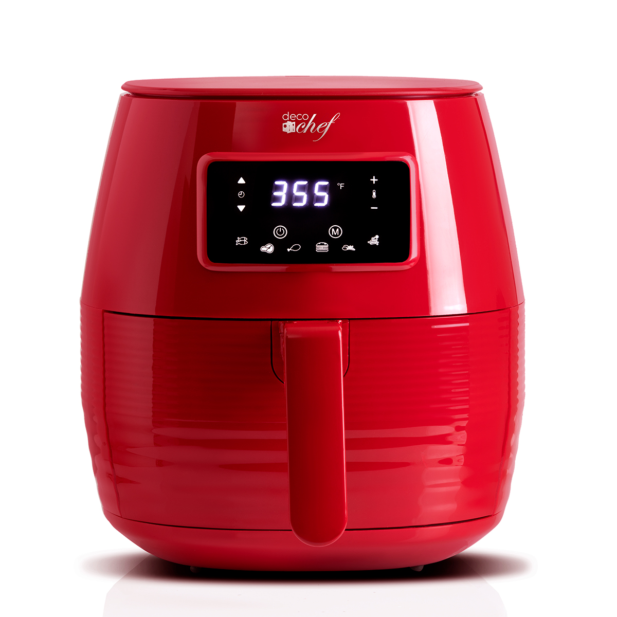 Deco-Chef-5-8QT-1400W-Digital-Electric-No-Oil-Air-Fryer-6-Cooking-Presets-Timer thumbnail 31