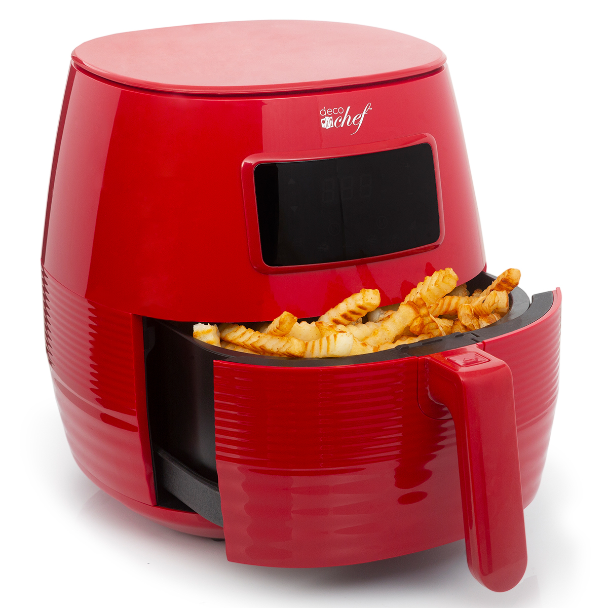 Deco-Chef-5-8QT-1400W-Digital-Electric-No-Oil-Air-Fryer-6-Cooking-Presets-Timer thumbnail 34
