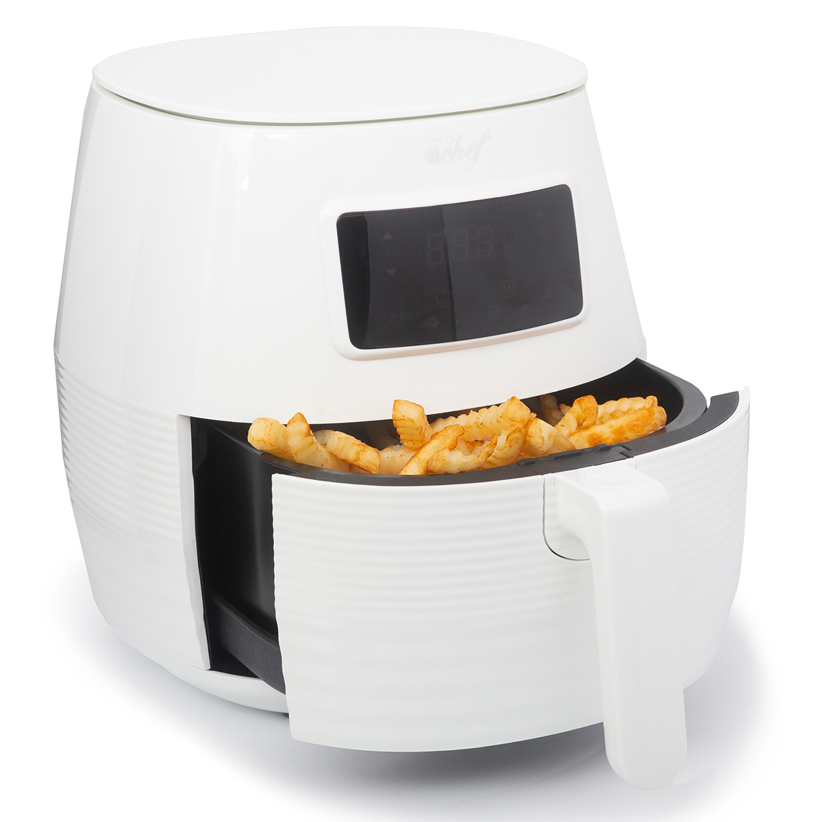 Deco-Chef-5-8QT-1400W-Digital-Electric-No-Oil-Air-Fryer-6-Cooking-Presets-Timer thumbnail 22