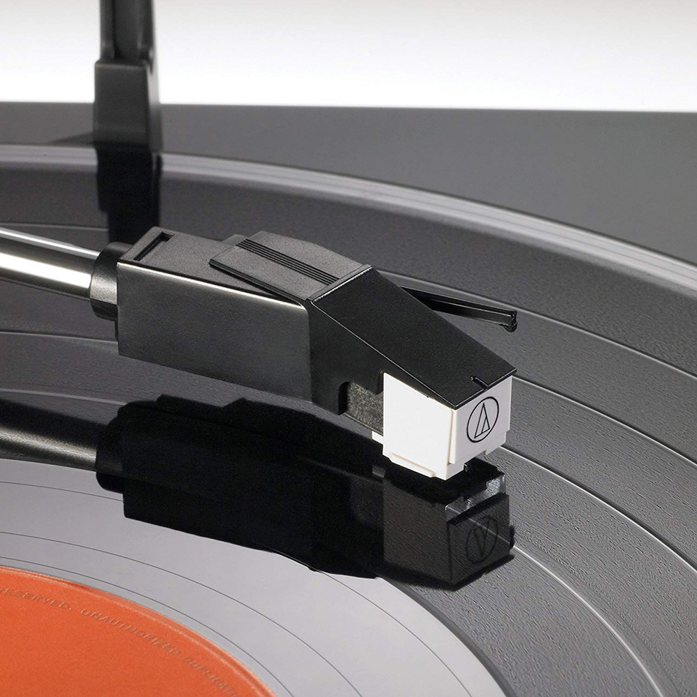 Audio-Technica-Fully-Automatic-Bluetooth-Wireless-Belt-Drive-Stereo-Turntable thumbnail 2