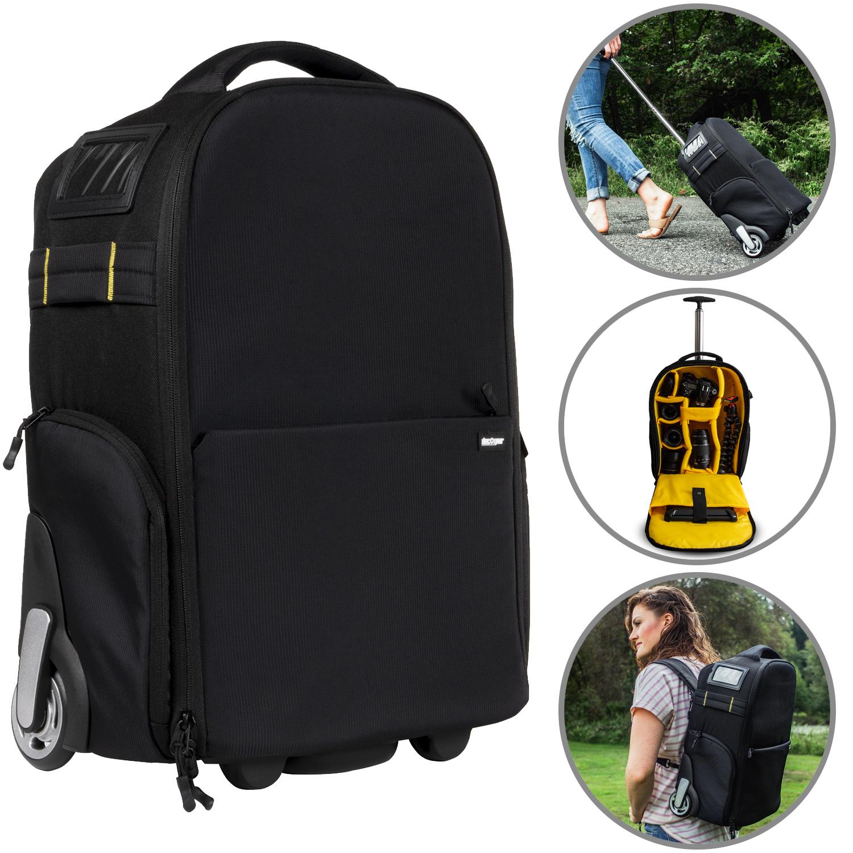 Deco Gear 3-in-1 Travel Camera Case - Waterproof Trolley, Ba
