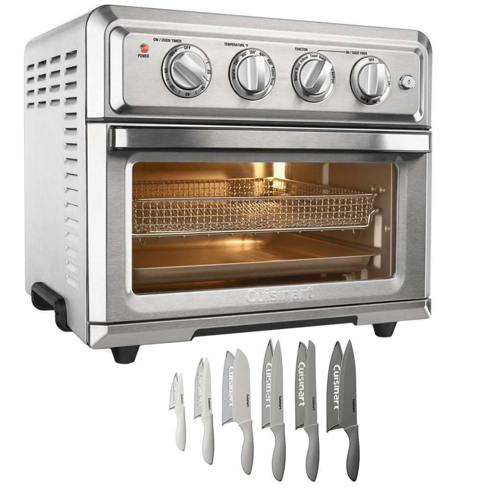 Cuisinart TOA-60 Convection Toaster Oven Air Fryer+ 12-Piece