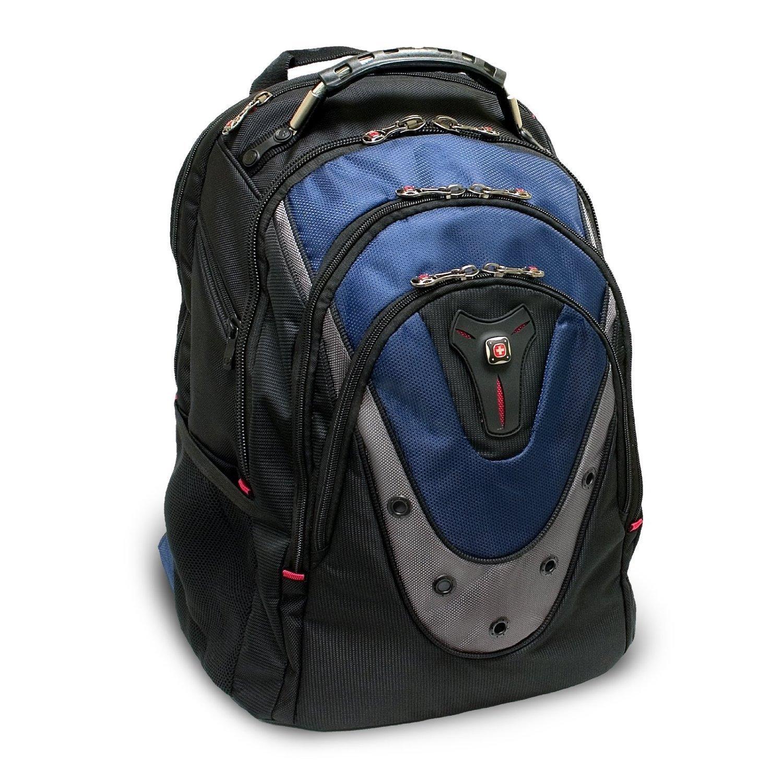 swissgear wenger ibex 17 notebook air flow back padding backpack black blue 92837731660 ebay On swissgear ibex