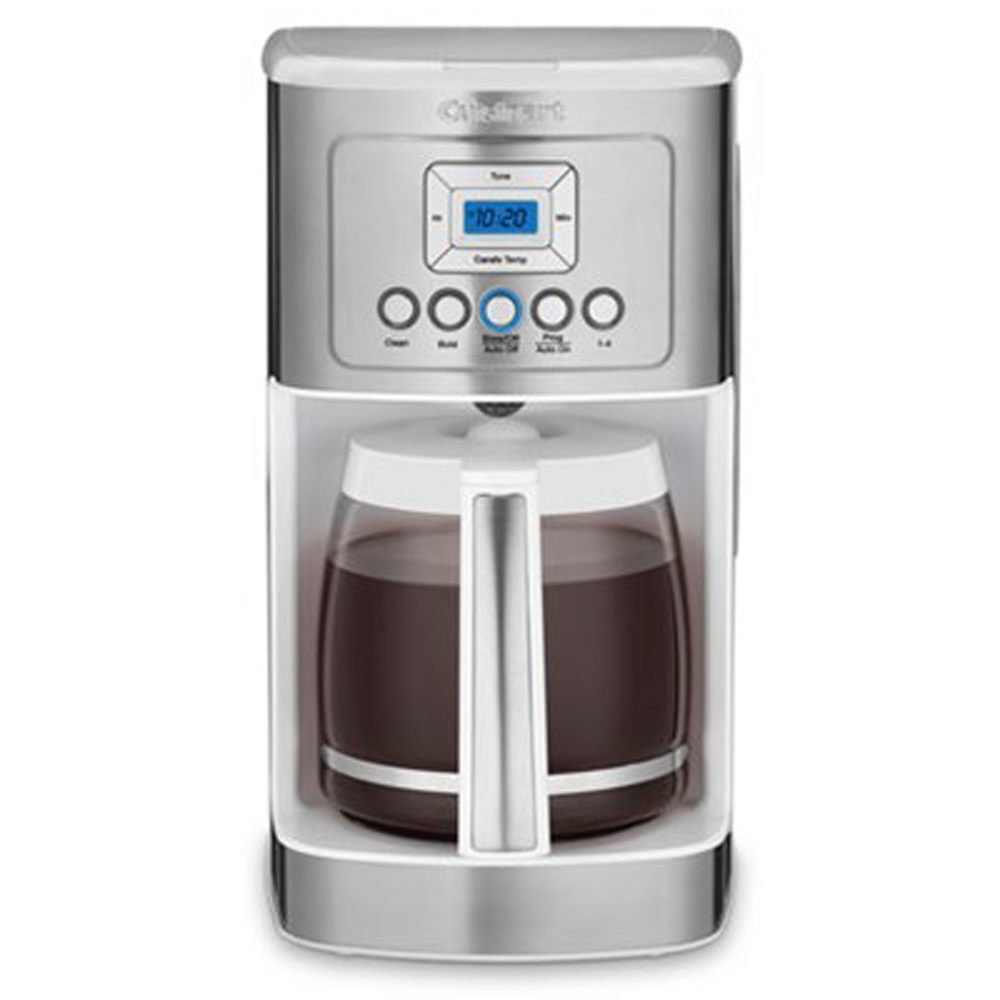 Cuisinart Perfect Temp 14-Cup Programmable Coffeemaker White + Extended Warranty 86279089816 | eBay