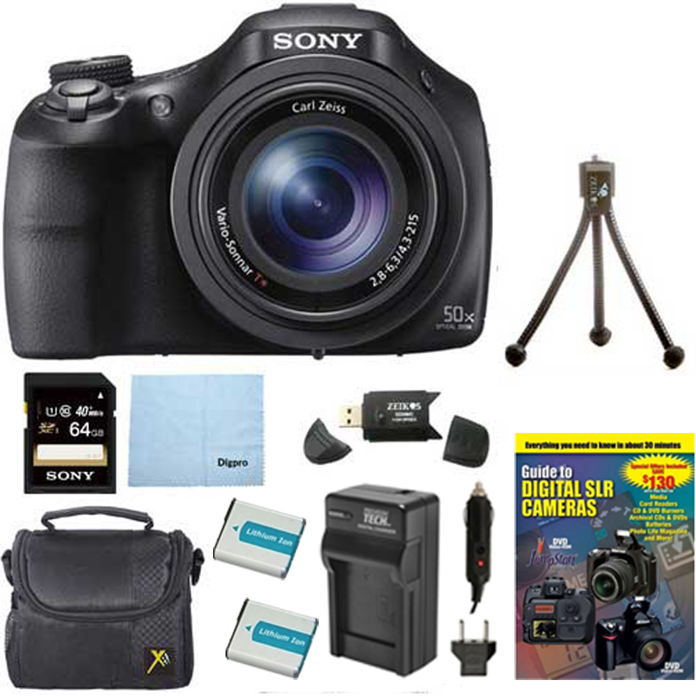 Sony Dsc-hx400v/b 50x Optiical Zoom 4k Stills Digital ...