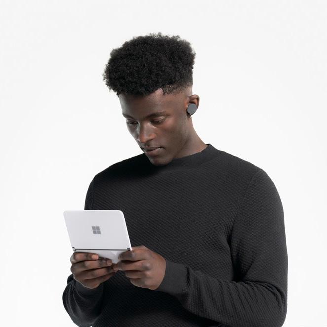 thumbnail 9 - Microsoft Surface Duo Folding 2 Screen Smartphone (Locked AT&T) - Choose Size