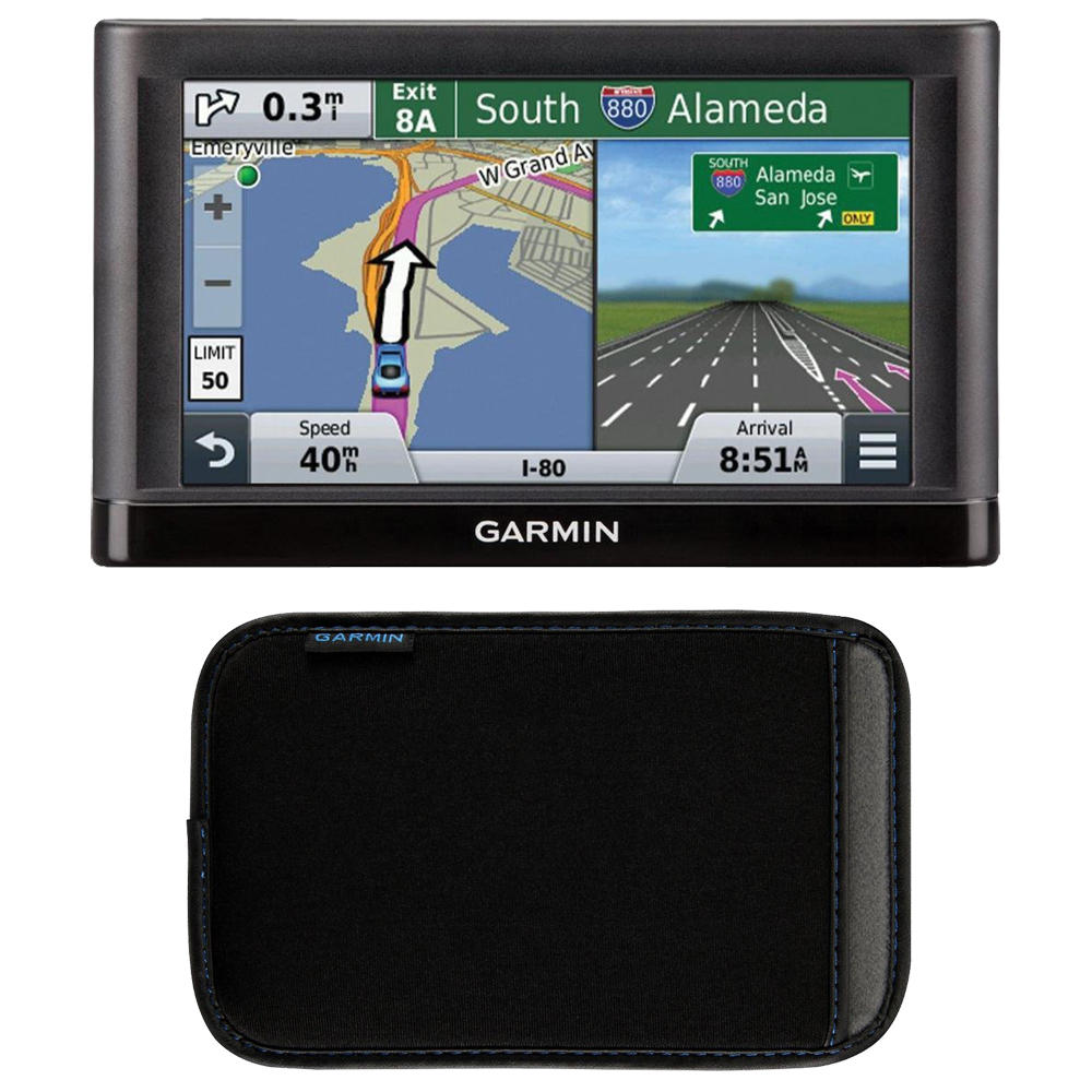 garmin nuvi 55lm gps 5 inch display navigation system. Black Bedroom Furniture Sets. Home Design Ideas