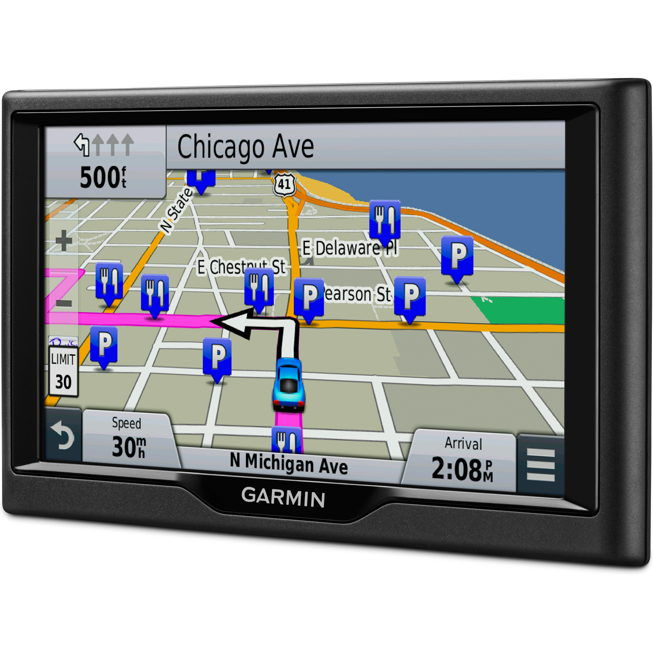 Garmin Nuvi LM Essential Series GPS Navigation - Garmin map indonesia us