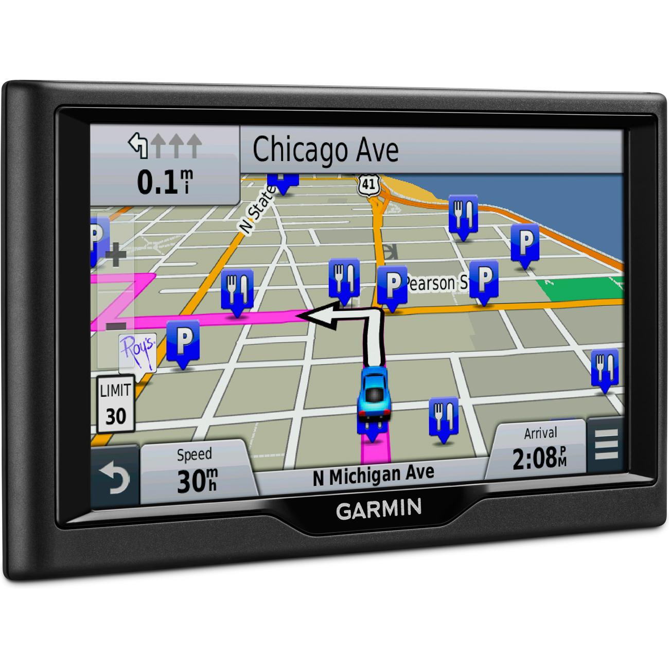Garmin Nuvi LM  Essential Series  GPS Navigation System W - Chicago map gps