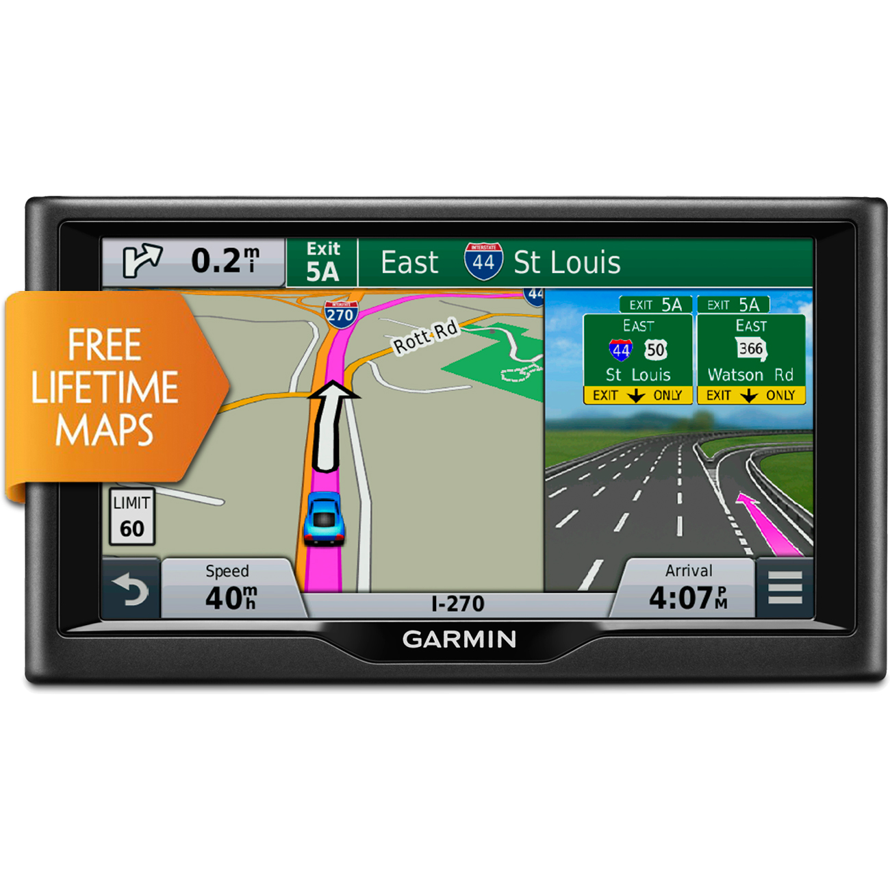 image is loading garmin nuvi 67lm 6 034 essential series 2015