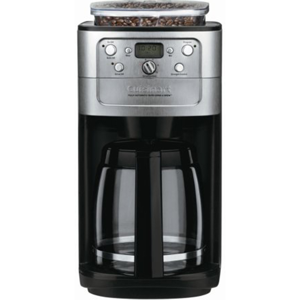 Cuisinart Coffee Maker Fully Automatic Burr Grind And Brew Instructions : Cuisinart-DGB-700BC-Fully-Automatic-Burr-Grind-Brew