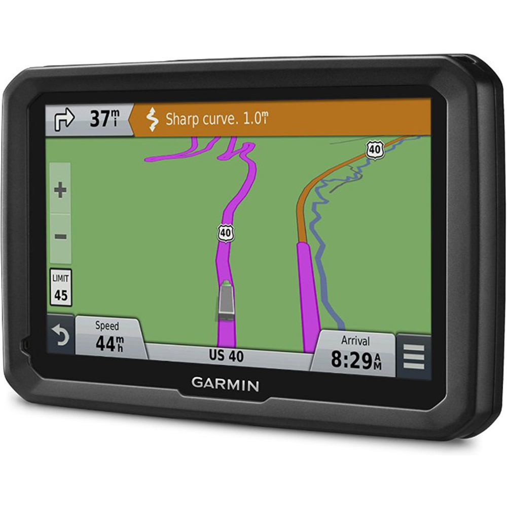 Garmin Gps Navigation : Garmin dezl lmthd gps navigation system with lifetime